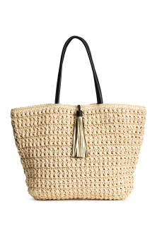Straw shopper